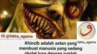 Waspada Gangguan jin Khanzab dalam shalat KHANZAB ADALAH SETAN SPESIALIS PENGANGGU ORANG SHOLAT Ternyata si pembuat lupa jumlah rakaat shalat adalah akibat gangguan dari setan yang bernama Khanzab (ada yang […]